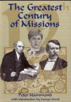 The Greatest Century of Missions